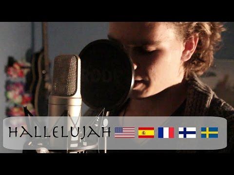 Hallelujah Cover In DIFFERENT LANGUAGES   Sebastian Mellblom