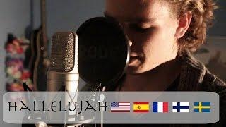 Hallelujah Cover In DIFFERENT LANGUAGES | Sebastian Mellblom