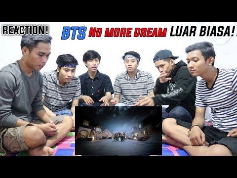 [REACTION] BTS -  NO MORE DREAM   WAOOOW MANTAPP ABISS LUAR BIASA!!!
