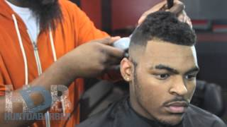HOW TO CUT A BALD FADE AND KEEP THE TOP( HUNT DA B