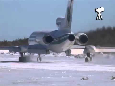 TU 154 fantastic takeoff