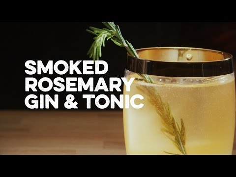 Smoked Rosemary Gin & Tonic | How To Drink