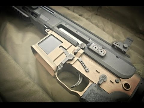 Faxon Firearms ARAK-21 test firing.