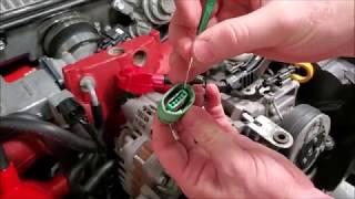 Alternator Plug Install Video