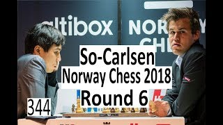 Norway Chess Round 6: Carlsen misses simple tactic!