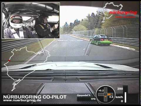 Nurburgring lap in Aston GT4