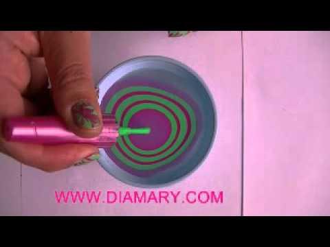 Decoracion de u as en agua youtube - Unas modelos para pintar ...