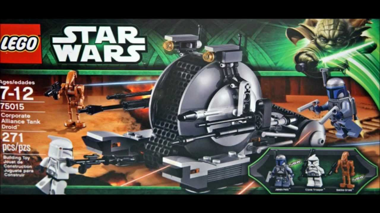 LEGO Star Wars 2013 Summer Set Pictures : Playlist & Guide! - YouTube