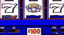 JACKPOT! ★★★ TRIPLE STARS HIGH LIMIT ★ MASSIVE HANDPAY! ➜ TRIPLE DOUBLE STARS
