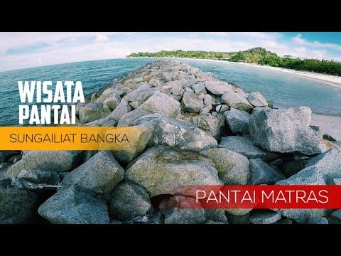 Wisata Pantai Matras Sungailiat Kepulauan Bangka Belitung Youtube