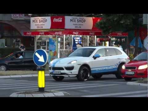 Porsche Cayenne S Hybrid speedART accelerate in Belgrade!