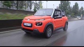 Citroën E-Mehari - Contacto en Francia - Matías Antico - TN Autos
