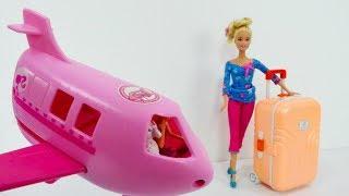 Barbie macht Urlaub - Spielspaß mit Puppen - Video für Kinder