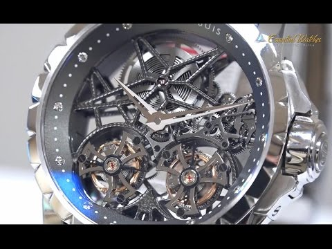 Roger Dubuis Sympathy Double Flying Tourbillon in Platinum