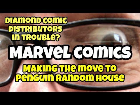 MARVEL COMICS Could DESTROY Diamond Comic Distributors By Moving To PENGUIN RANDOM HOUSE