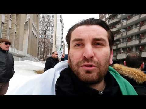 6/8 Consulat Général d'Algérie à Montréal. Des citoyens s'expriment 15/03/2014