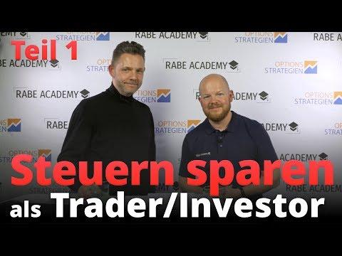 Steuern SPAREN als Trader und Investor - Tipps und Erfahrungswerte vom Steuerberater Burkhard Küpper