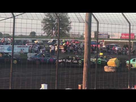 Nicholas Profeta- Figure 8 Race - Lee County Speedway- 8/3/19