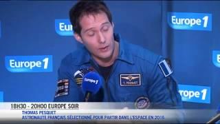 """Thomas Pesquet : """"Si on me propose d"""