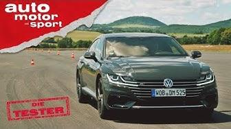 VW Arteon: Eher ein Passat oder ein Phaeton? Die Tester | auto motor und sport