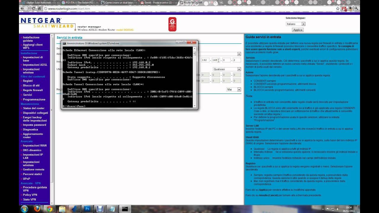 Video Tutorial - Come aprire le porte dei router Netgear