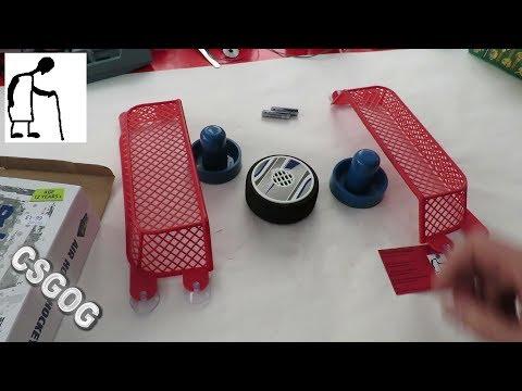 CSGOG Table Games Air Hover Hockey Set