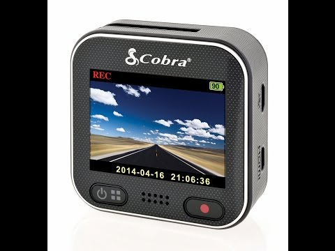 Cobra CDR 900 Dash Cam With WiFi Unboxing