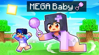 Becoming MEGA Baby in Minecraft BABY Simulator!