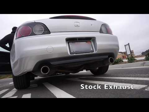 S2000 Tanabe Medalion Touring Exhaust