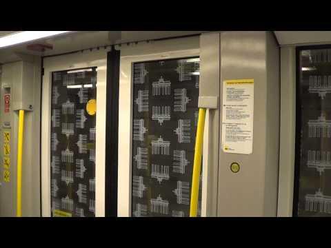 U-Bahn Berlin - Mitfahrt Hk06 (Alexanderplatz - Potsdamer Platz)U2[HD 1080p]