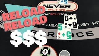 Reload Reload - Massive ups and Downs Blackjack