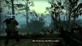 Swamp Fever Gameplay 1 (Left 4 Dead 2) - Witch Hunter