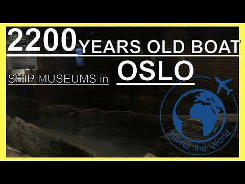 2200 YEARS OLD BOAT(Norwegian Maritime Museum & Kon Tiki Museum & Viking Ship Museum,Oslo Travel)