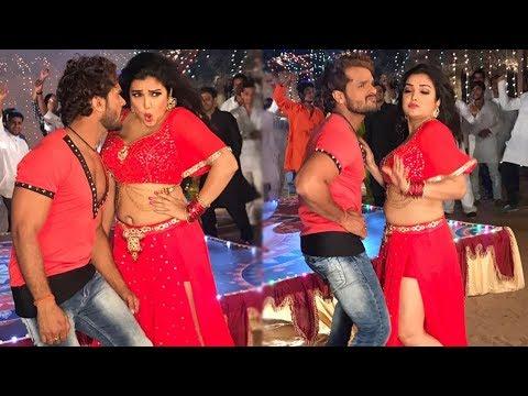 Amrapali Dubey Khesari Lal HOT Dance  2017   On Location Video