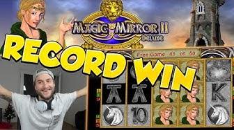 RECORD WIN!!!! Magic Mirror Delux 2 Big win - Casino - Huge Win (Online Casino)