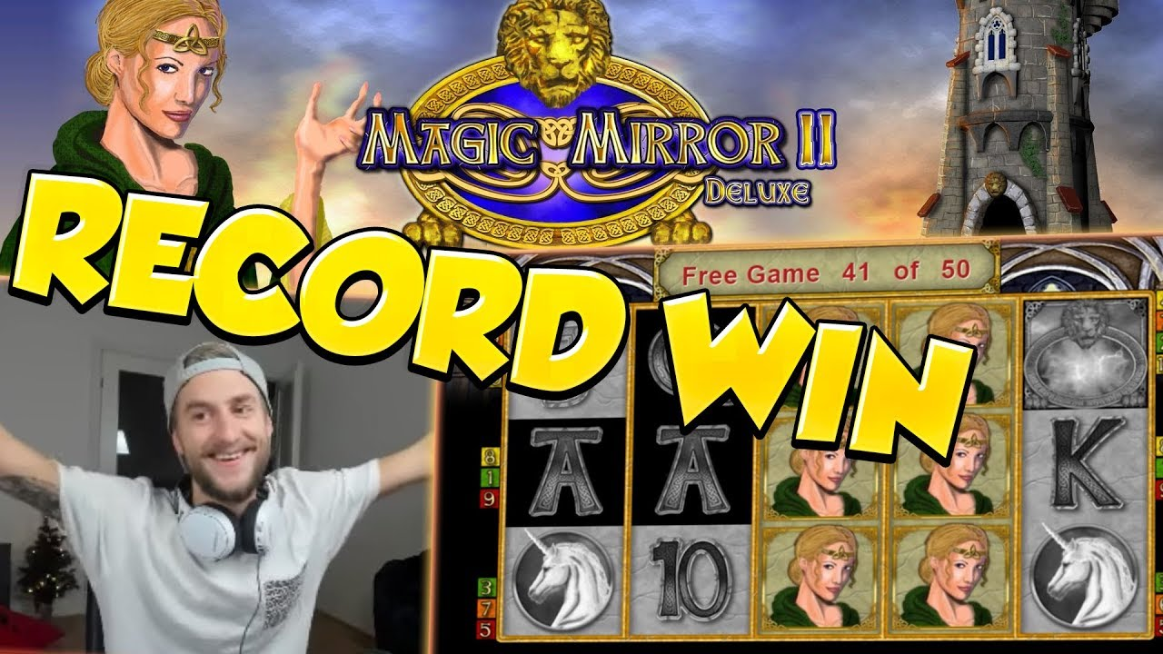 RECORD WIN!!!! Magic Mirror Delux 2 Big win - Casino - Huge Win (Online Casino)