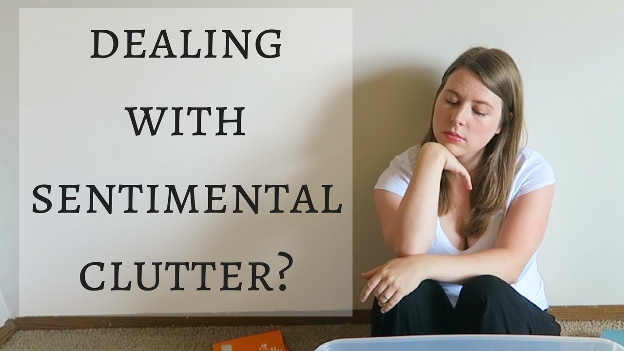 How To Declutter Sentimental Items Minimalist Minute