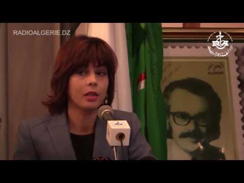 radio algerie   emission d'un timbre poste sur Aissa Messaoudi