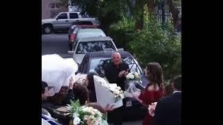 Жених забирает невесту из дома / Армянская шикарная свадьба в Ереване 2018