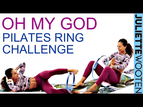 Pilates Ring Workout | 30 Min Full Body | Pilates with Juliette