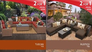 Cheap Outdoor Wicker Patio Furniture Sets With A Wide Variety Of Designs, Styles, Fabrics and Colors