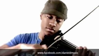 Chơi violon trên nền nhạc Hip Hop.flv