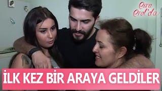 Ceyda ilk kez Mustafa'nın annesiyle bir araya geldi - Esra Erol'da 3 Nisan 2017 - 371. Bölüm - atv