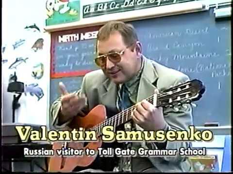 1996 Russian visits Toll Gate Grammar School