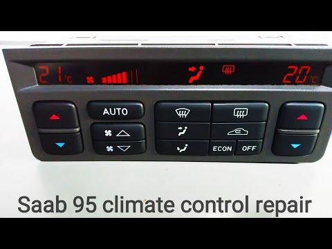 Saab 95 Climate control repair