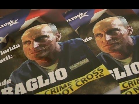 Napoli - Libro sul calvario di Chico Forti -1- (03.12.13)