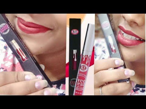 *new*-modicare-color-cream-matte-lipstick-review