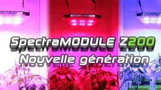 SpectraMODULE Z200 - Lampe horticole LED avec écran tactile et gestion de culture