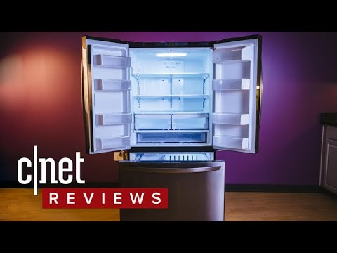 LG LFCS25426D review: A so-so fridge with a nice paint job