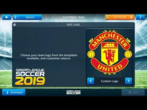 How To Import Manchester United Logo And Kits In Dream League Soccer 2019.